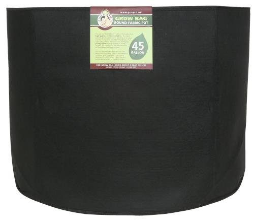 Gro Pro Premium Round Fabric Pot 45 Gallon (25/Cs)