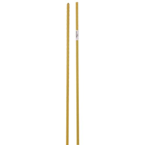 Grower's Edge Deluxe Steel Stakes 5/16 in Diameter 4 ft - Yellow (20/Cs)