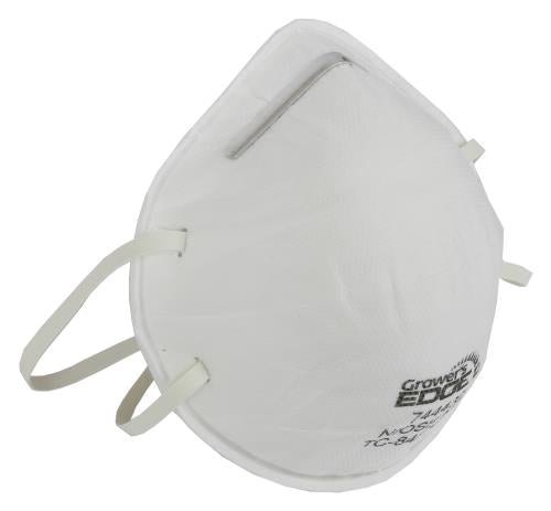 Grower's Edge Clean Room Conical Particulate Respirator Mask (20/Cs)