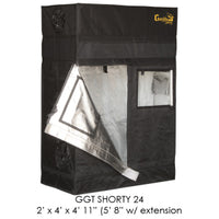 "2'x4' Gorilla Grow Tent SHORTY w/ 9"" Extension Kit"