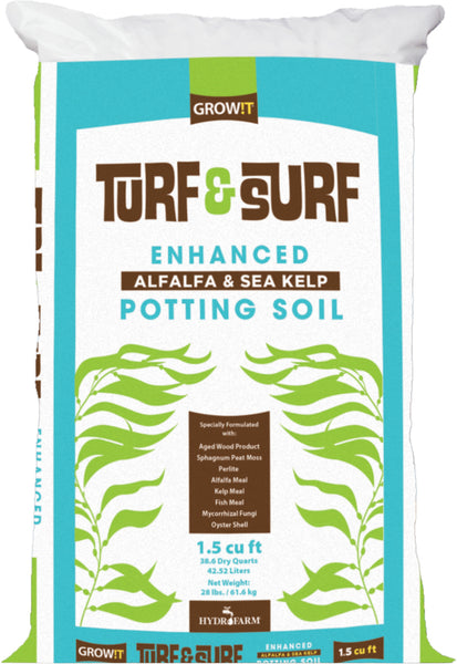 Turf & Surf potting soil 1.5 cuft