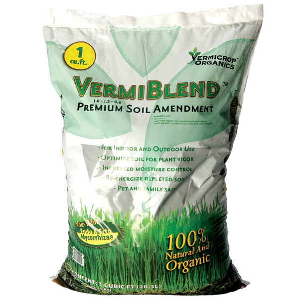 VermiBlend Soil Amendment 1 cu. ft. Bag