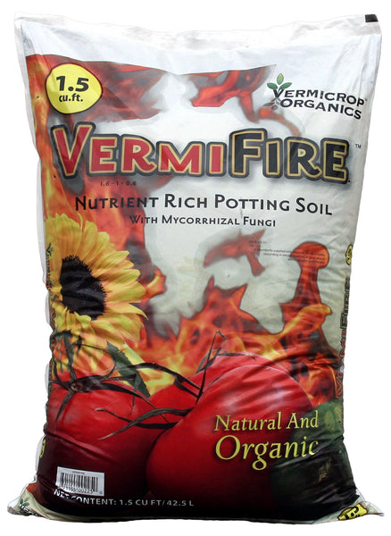 VermiFire Nutrient Rich Potting Soil 1.5cf