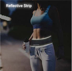 Reflective Strip Waist Belt