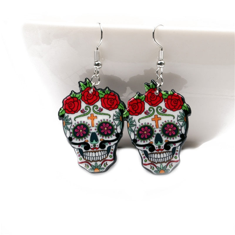 Calavera Beauty Earrings