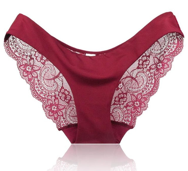 Lace Seamless Panties Briefs