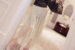 Sequins Lace Skirt