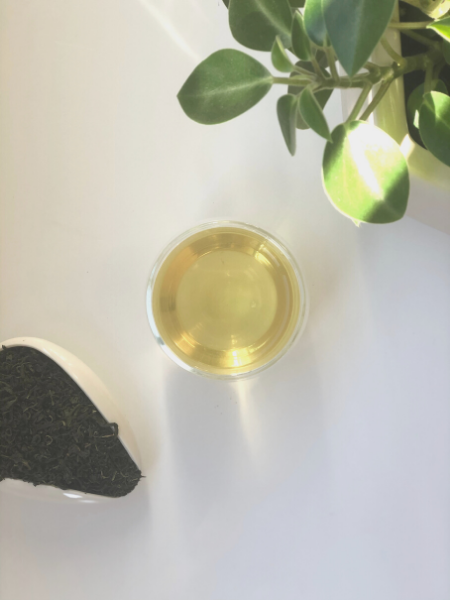 GREEN TEA: Joonjak 'Sparrow's tongue', South Korea