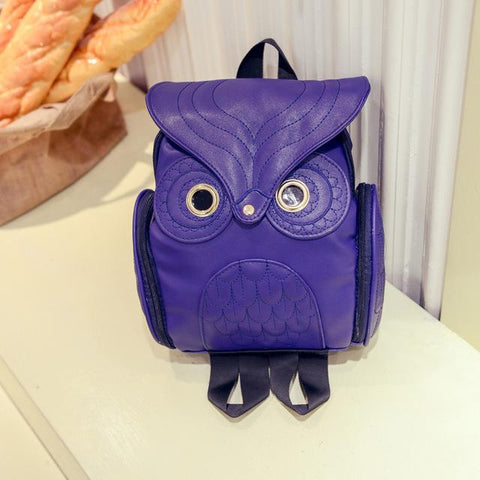 Stylish Owl Design Back Pack