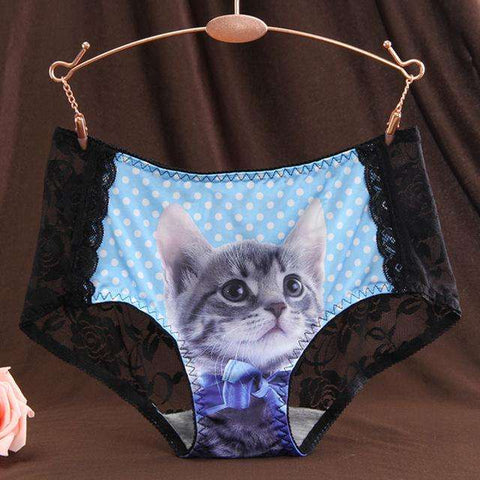 Sexy Lace Cat Panties