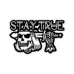 Stay True Suicide King Kiss-Cut Stickers