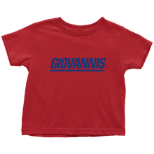 Giovannis NY Style Toddler Tee