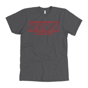 Stranger Simple - American Apparel Mens Tee