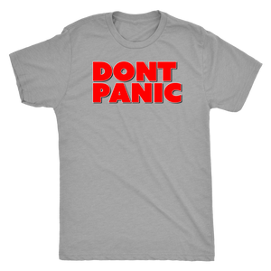 Dont Panic Crypto - Triblend Tee