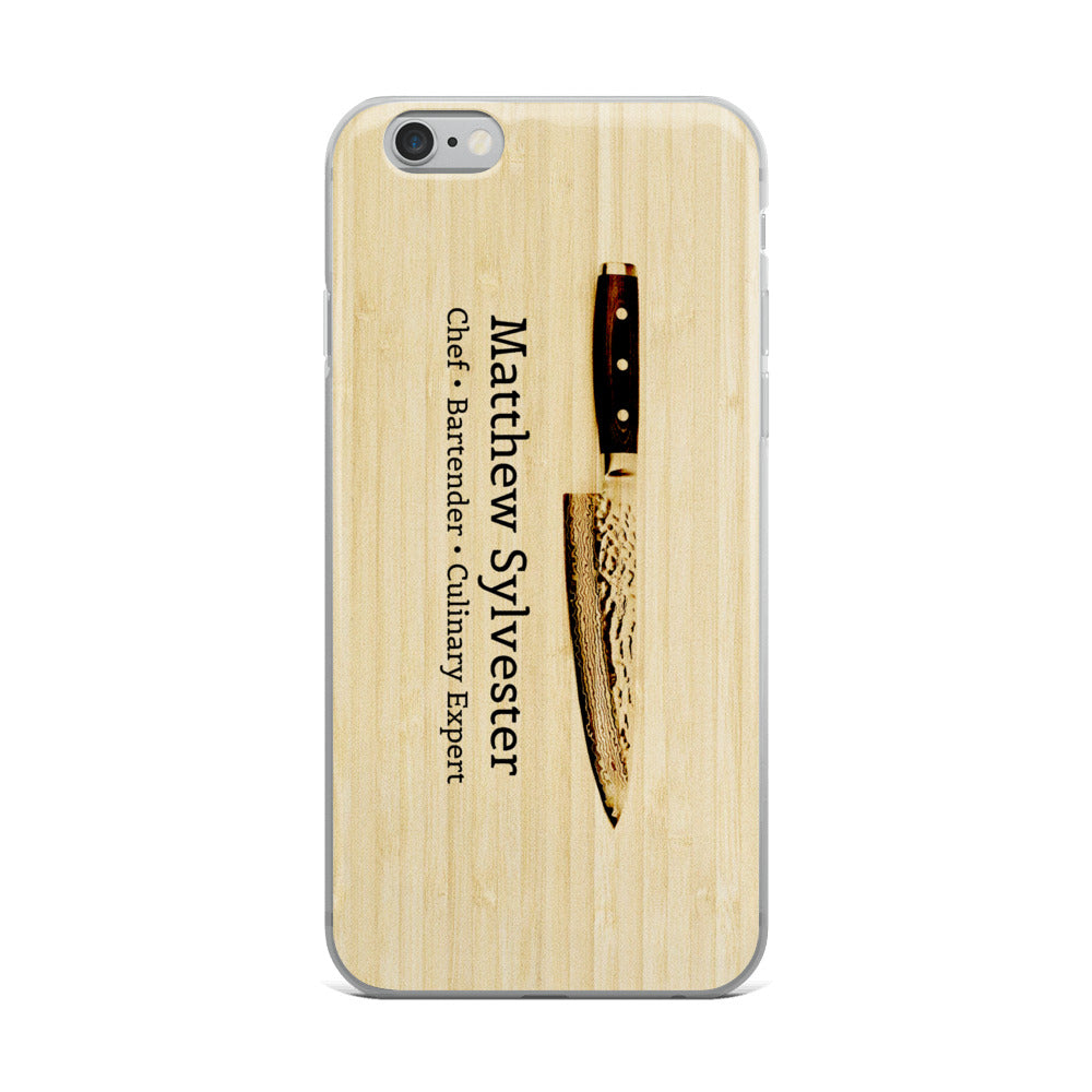 The BK Chef iPhone Case