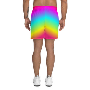 Weaker Rainbow All-Over Print Shorts