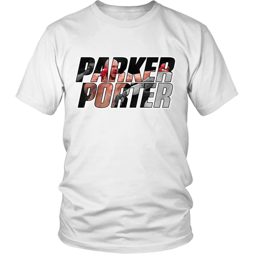 Parker Porter Mens Shirt - B&W Background