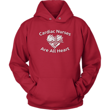 Cardiac Nurses Are All Heart Unisex Hoodie