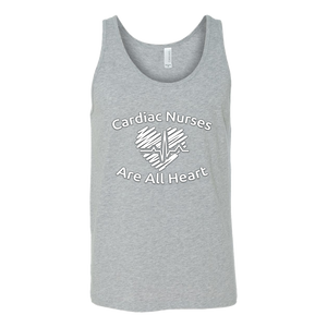 Cardiac Nurses Are All Heart Unisex Tank