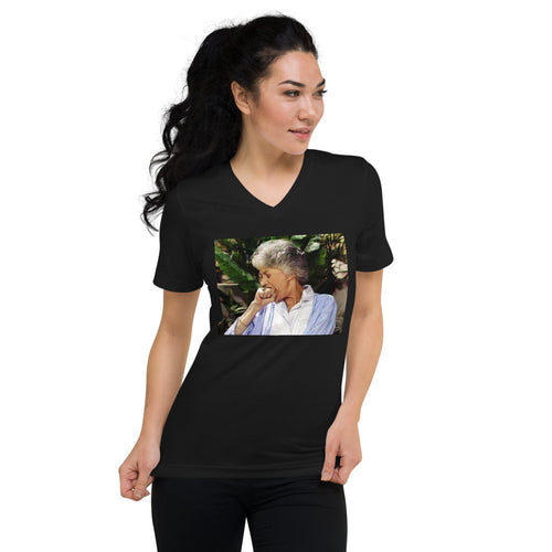 Bea Arthur V-Neck T-Shirt