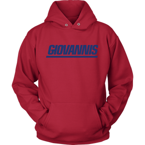 Giovannis Blue NY Style Hoodie