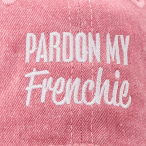 PARDON MY FRENCHIE dad hat