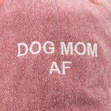 DOG MOM AF dad hat