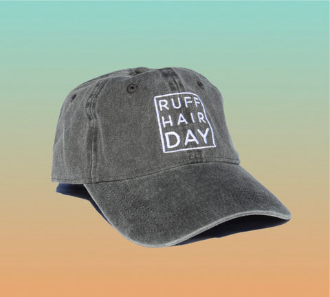 RUFF HAIR DAY dad hat