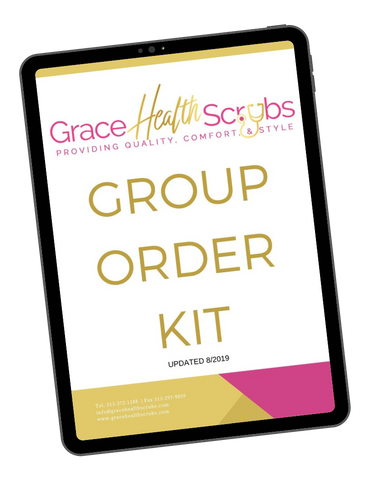 GROUP ORDER WITH GRACE HEALTH SCRUBS