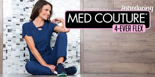 4-Ever Flex  Collection by Med Couture | Grace Health Scrubs