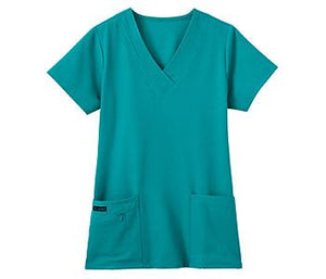 Jockey Ladies Favorite V-Neck Top Teal