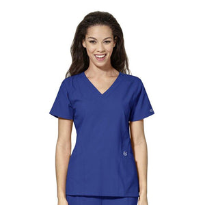 W123 V-Neck Scrub Top - Grace Health Scrubs, LLC