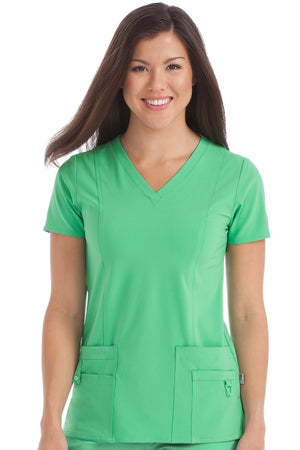 V-Neck In-Motion Classic Top - Grace Health Scrubs, LLC