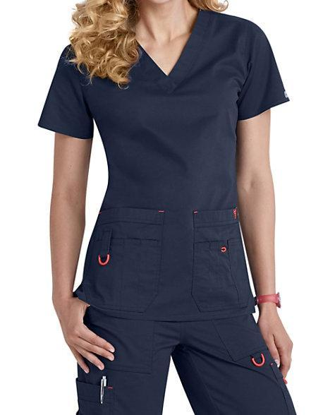 Med Couture Rescue Utility Scrub Top & Pant Set - Grace Health Scrubs, LLC