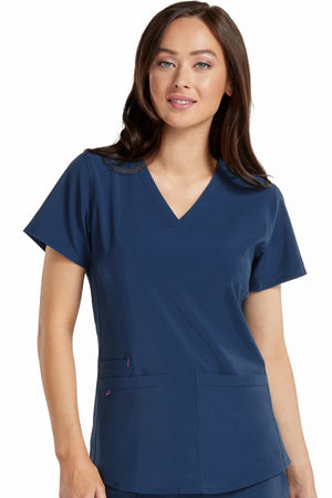 Racerback Shirttail Serena Top Regular