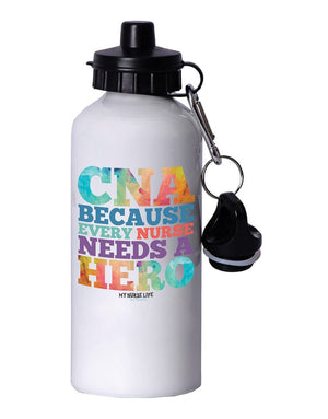 CNA Hero Water Bottle - Grace Health Scrubs, LLC