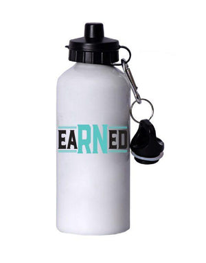 eaRNed Water Bottle - Grace Health Scrubs, LLC
