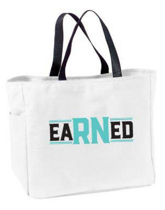 EaRNed Tote Bag