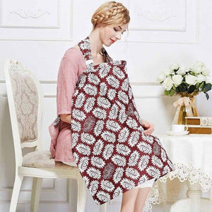 Breathable breastfeeding cover 100% cotton muslin breastfeeding Privacy apron outdoors feeding baby nursing cloth nursing cover
