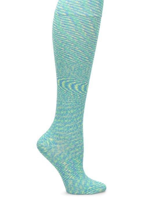 Nurse Mates Compression Sock - Mint Prism Space Dye