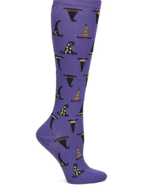 Nurse Mates Compression Sock - Witches Hats