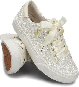 ALIGN™ GLITTER WHITE-Shoes-Nurse Mates-7.5-Grace Health Scrubs, LLC