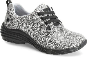 ALIGN™ VELOCITY-Shoes-Nurse Mates-7-Black & White sparkler-Grace Health Scrubs, LLC