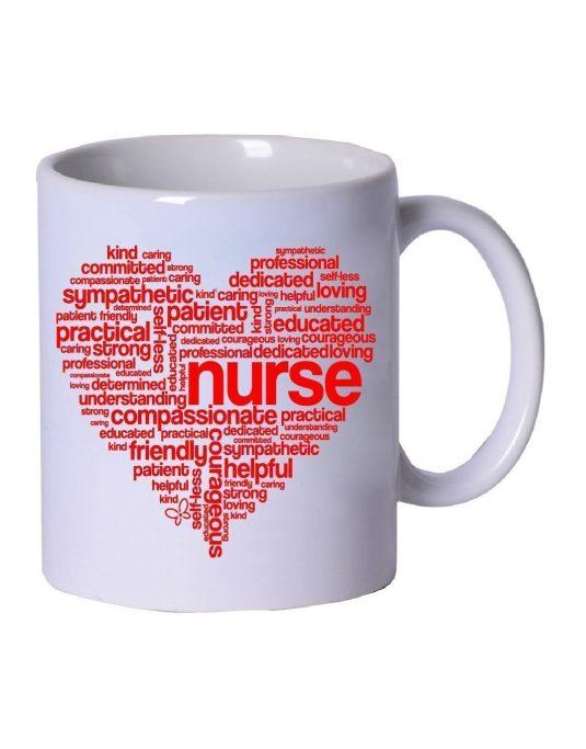 Nurse Heart Coffee Mug