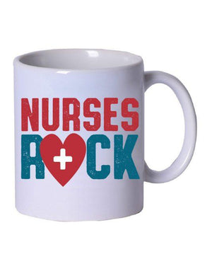 Nurses Rock Coffee Mug - Grace Health Scrubs, LLC