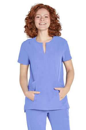 ADAR Addition, Women's Bib Front Smock Top
