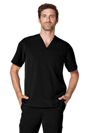 ADAR Addition Men's Classic V-Neck Top