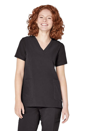 ADAR Addition Women's Modern V-Neck Top
