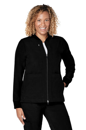 ADAR Addition Women's Classic Bomber Jacket
