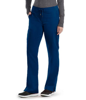 Grey's 6 Pocket Tie Front Pant (Indigo) Navy